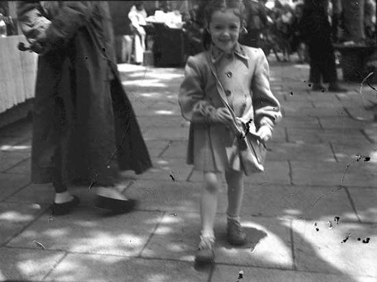 ... our little sister, Mary-lou in 1947 (in Shanghai)